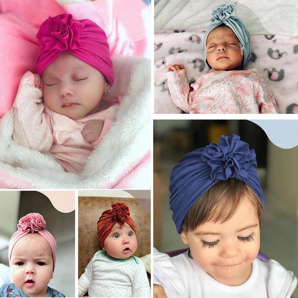 เด็กหมวกโบว์หมวกเด็กหมวกผ้าฝ้ายผสมเด็กแรกเกิด Unicorn Beanie TOP Knot เด็ก Photo Props เด็กของขวัญ