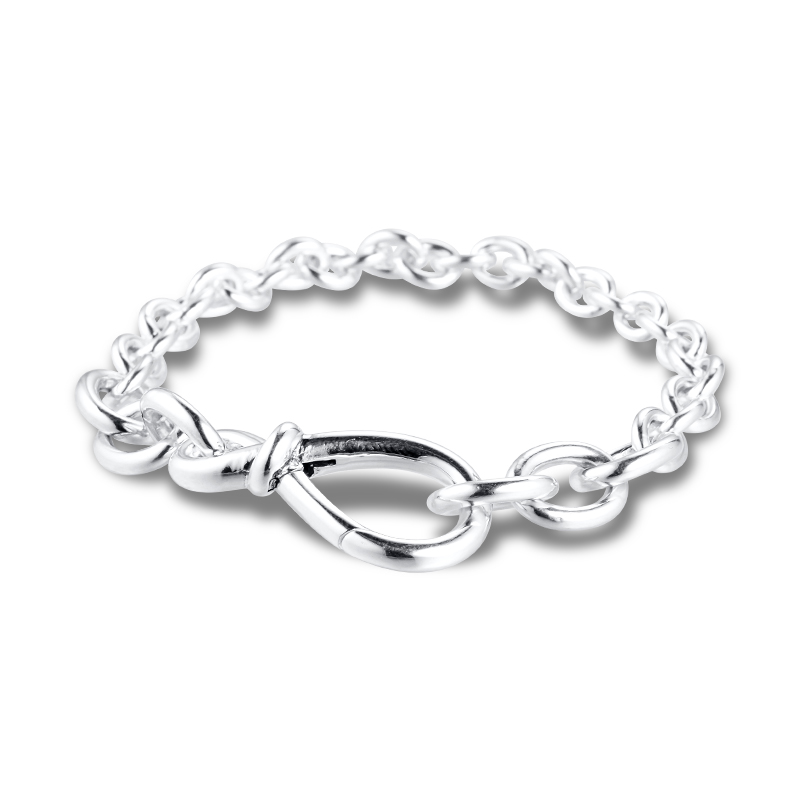 GPY Bracelet Infinity Knot Chain Bracelets Women Pulseira Hombre Feminina Masculina Pulseras Mujer Silver 925 Sterling Jewelry