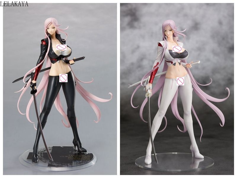 2 Colors Orchid Seed Triage <font><b>X</b></font> Yuuko Yuko Sagiri Darkness Ver. White Black OROCHI <font><b>Sexy</b></font> Girls PVC Action Figure Model Toy lelakaya image