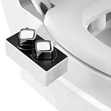 Ультра тонкие Неэлектрические аксессуары для биде сиденье унитаза