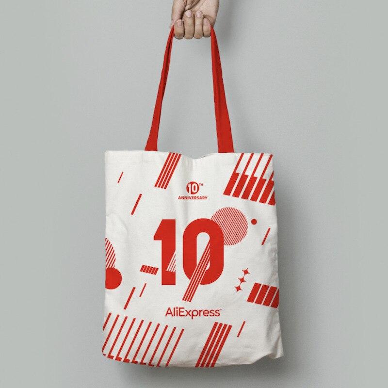 AliExpress 10th Anniversary Item -- High Capacity Canvas Bag, Large Capacity Bags