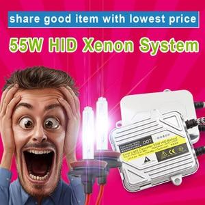 Image 5 - סופר רזה hid קסנון הנורה 35w 55w 150 ואט hid קסנון ערכת DC נמוך price12v 24v h1 h3 h4 h7 h13 9005 9006