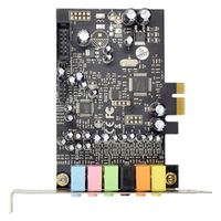 FFYY PCIe 7.1CH Sound Card Stereo Surround Sound PCI E Built In 7.1 Channel Audio Audio System CM8828