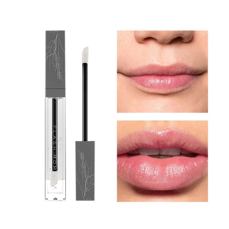 Moisturizing Increase Elasticity Reduce Lip Fine Lines Lip Balm Plumper Care Non Color Lip Gloss Superimposed Lipstick