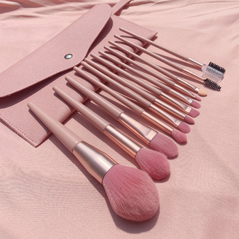 7/12Pcs Makeup Brushes Set for Cosmetic Foundation Powder Blush Eyeshadow Lip Blending Brush with Wooden Handle Beauty Tools