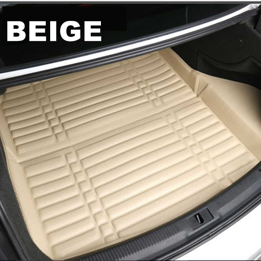 SJ 3D Wasserdichte Auto Hinten Trunk-Boot Matte Liner Cargo Floor Fach Teppich Pad Protector Fit Für Volkswagen VW Tiguan 2009 2010-2019