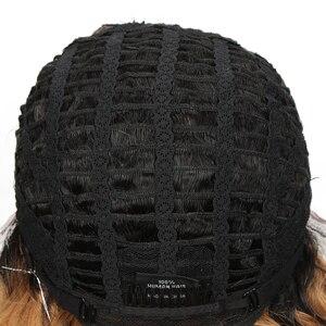 Image 5 - 매끄러운 인간의 머리가 발 젖은 및 웨이브가 발 100% 레미 브라질 머리가 발 짧은가 발 TT1B/27 Ombre L 부분 레이스가 발 150% 밀도