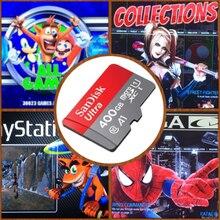 400 gb retropie cartão sd mais recentes raspberry pi 3 b + 30,800 + jogos! Boxart 3d, visualização de vídeo, estação de emulação, multi emuladores