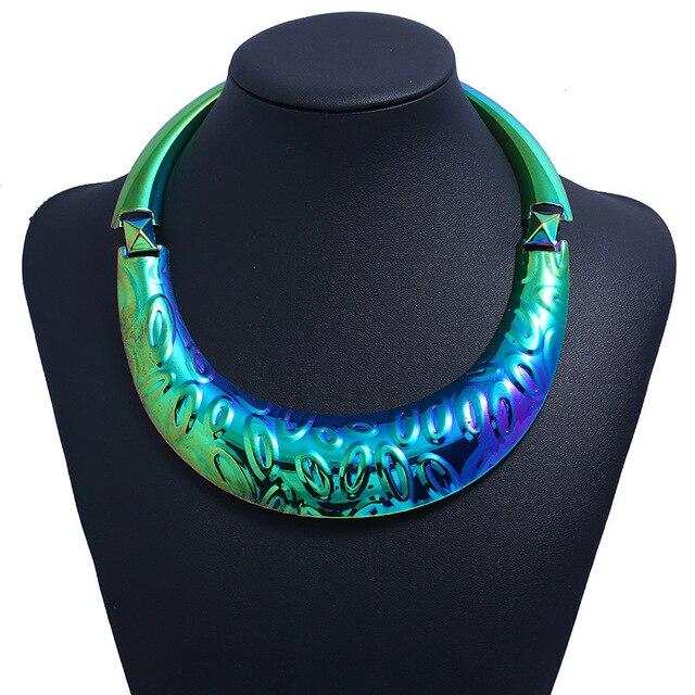 Купить lzhlq богемский этнический ожерелье эффектное женское 2020 популярный картинки