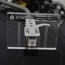LP проигрыватель виниловых пластинок измерительный Phono тонарм VTA/картридж азимут линейка баланс картридж азимут линейка головная повязка проигрыватель