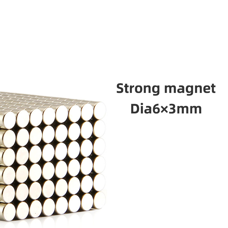 U-Ni-CE 10/30/100 pieces 6mmX3mm strong disc rare earth magnet 6X3 neodymium N35 Mini small round magnets 6*3mm