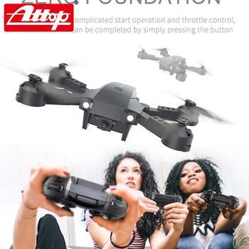 ATTOP X-PACK 10 Mini RC Drone 2,4G 4CH 6-Axis Gyro 3D-Flip modo sin cabeza una tecla de retorno Quadcopter RC helicóptero de jug 3