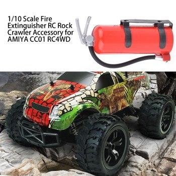 1/10 Scale Fire Extinguisher Simulation RC Rock Crawler Accessory for AMIYA CC01 RC4WD Mini Fire Extinguisher Toy fire extinguisher shaped land line telephone
