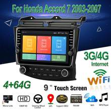 "Untuk Honda Accord 7 2003-2007 Mobil Multimedia Player 9 ""Android 8.1 Car Radio Stereo dengan GPS Bt WIFI 3G/4G OBD2 DAB + Audio Video(China)"