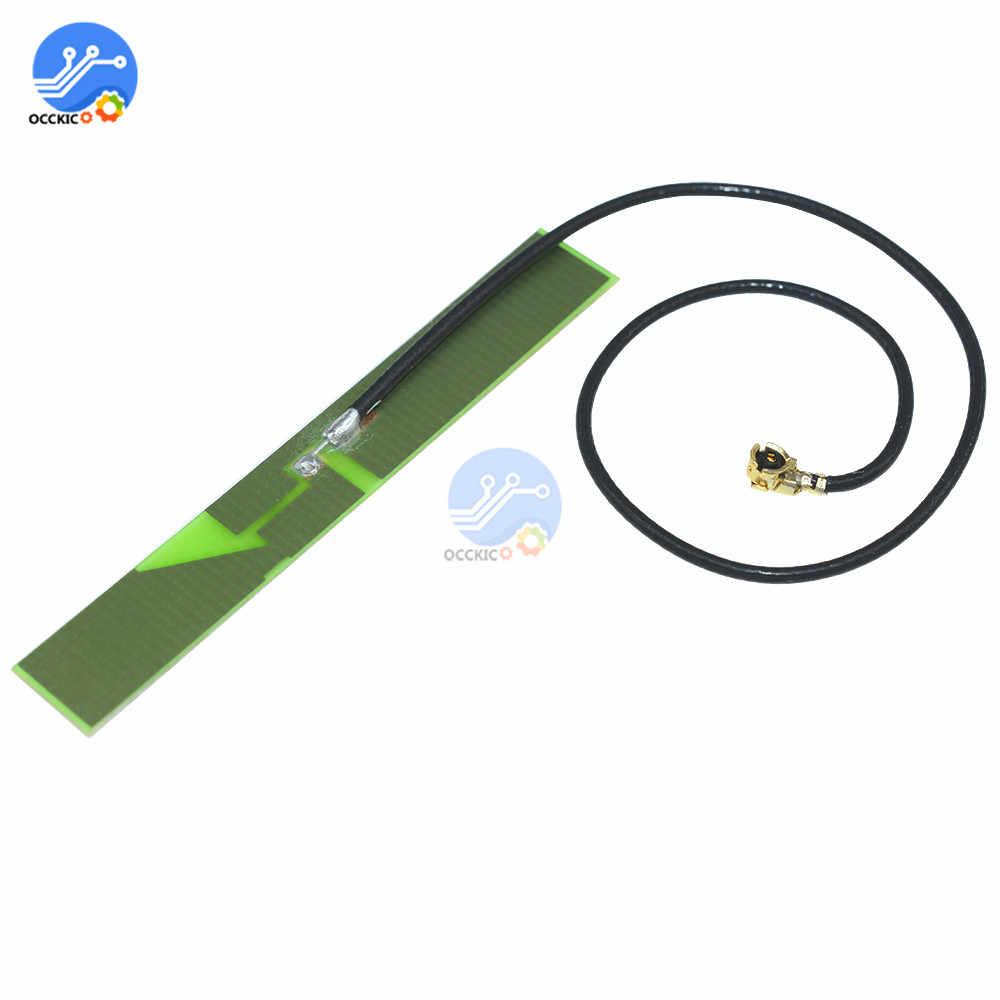 2.4G 3dbi PCB antenne WIFI Bluetooth Zigbee antenne IPX IPEX WLAN pour SIM900 SIM800L SIM908 SIM800C