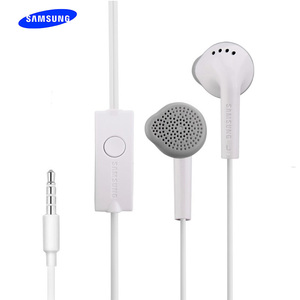 Image 1 - Samsung EHS61 3.5mm Wired Headset Music Earphone In line Control Headset with Mic for Galaxy S6 S7 Edge S8 S9 S10 Smart Phone