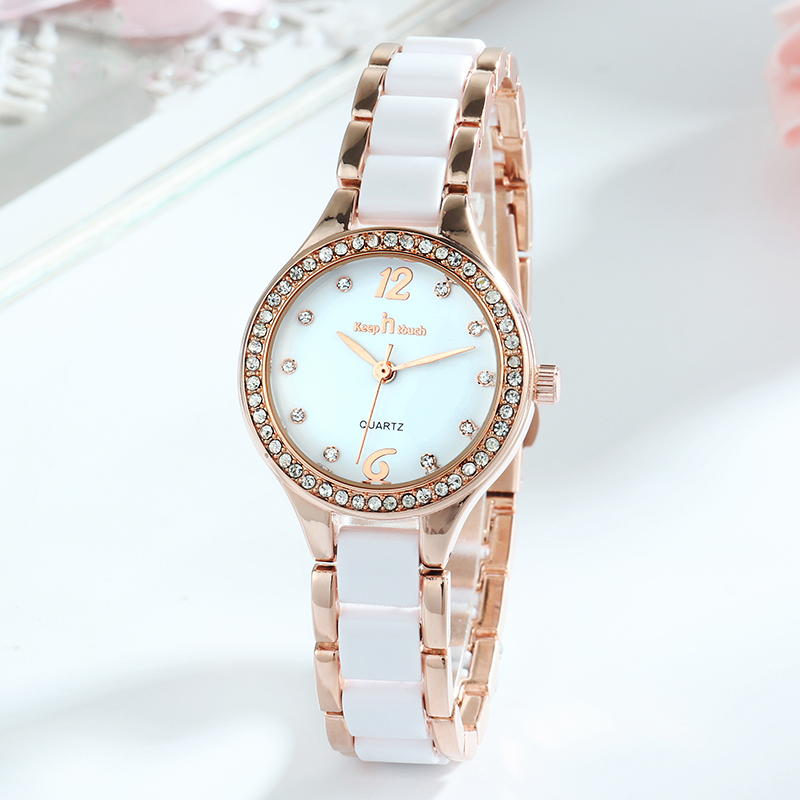 Women Watches Luxury Quartz Female Wrist Watches Fashion Casual Diamond Ladies Watch Gifts For Women Clock With Box Reloj Mujer