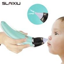 Aspirateur nasal électrique pour bébé, nettoyage du nez, pour enfant, nouveau-né, soins bébés, ventouse, équipement de respiration, hygiénique