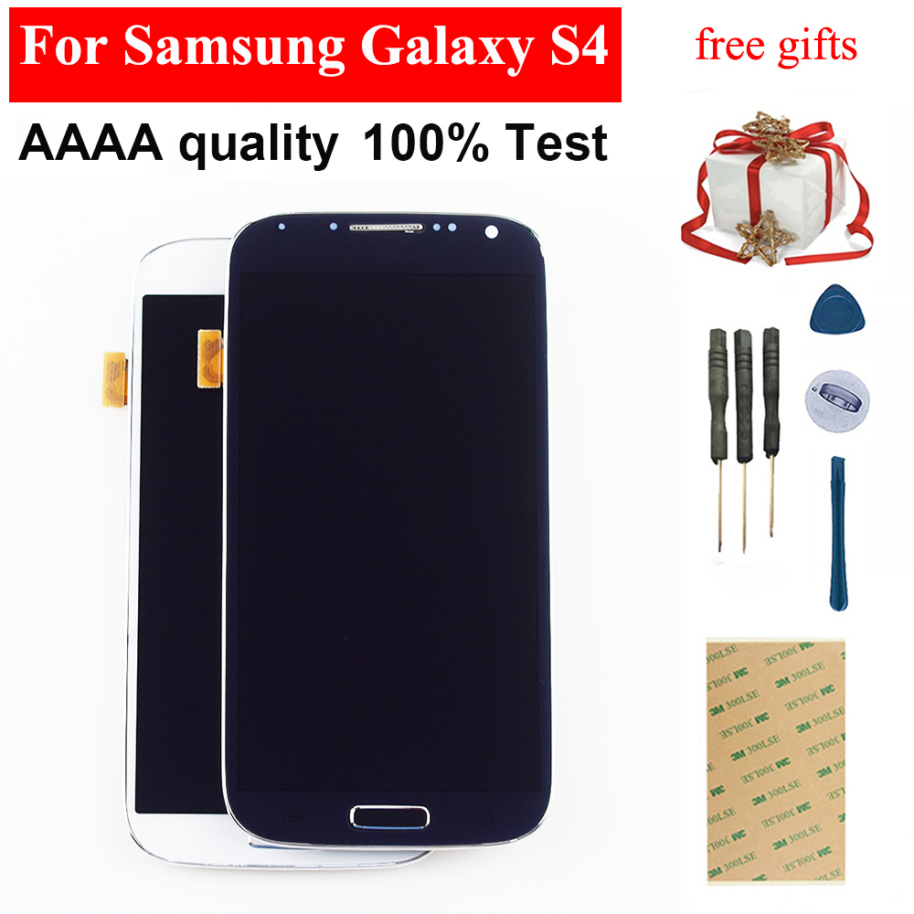 Für <font><b>Samsung</b></font> <font><b>Galaxy</b></font> <font><b>S4</b></font> Display Touchscreen Digitizer Montage Für <font><b>Samsung</b></font> <font><b>Galaxy</b></font> <font><b>S4</b></font> <font><b>LCD</b></font> Display I9500 Display Bildschirm I9505 I337 image