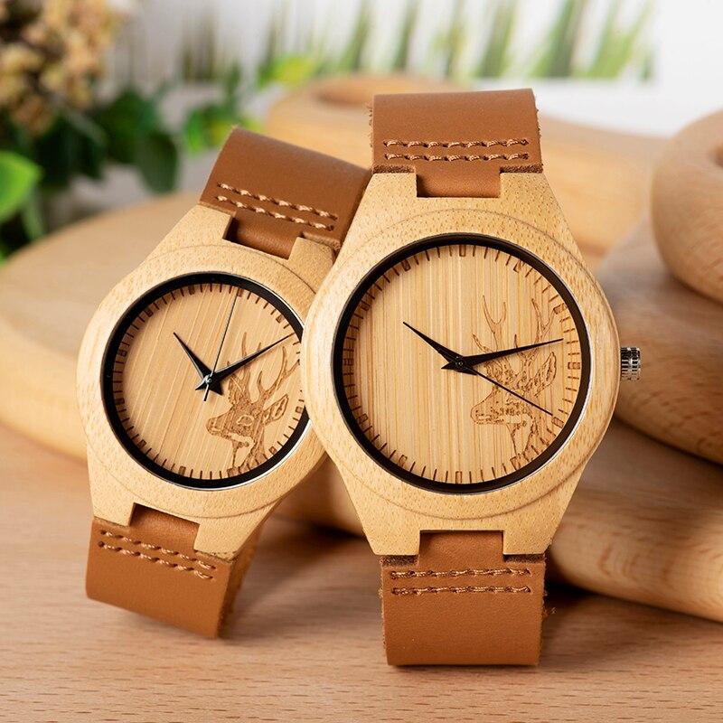 caixa capa de madeira relógio de pulso