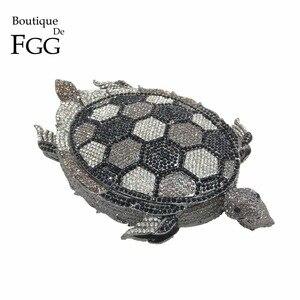 Image 1 - Boutique De FGG NoveltyเพชรMinaudiereกระเป๋าสำหรับสุภาพสตรีอย่างเป็นทางการงานแต่งงานคริสตัลคลัทช์คริสตัลกระเป๋าและกระเป๋าถือ