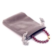100pcs CBRL velvet drawstring jewerly dust bag for gift accessories Ipa