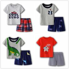 Camouflage Dino Children Clothes Suit Newborn Outfit 6 9 12 18 24 Month Baby Boy Clothing Sets Infant T-Shirt Camo Shorts Pants
