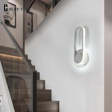 Белый светодиодный настенный светильник для помещений дома Современные