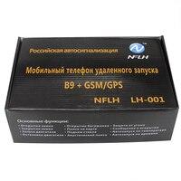 Engine Start+B9 GSM GPS Mobile Phone Control Car GSM / GPS Dual use Car Anti theft Alarm