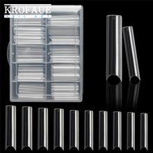 Xl extra longo quadrado falso unhas dicas c curvado em linha reta unhas manicure arte do prego decoração ferramentas acrílico artificial unhas falsas