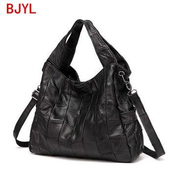 luxury fashion genuine leather women handbag sheepskin bag female shoulder messenger bag large capacity diagonal crossbody bags