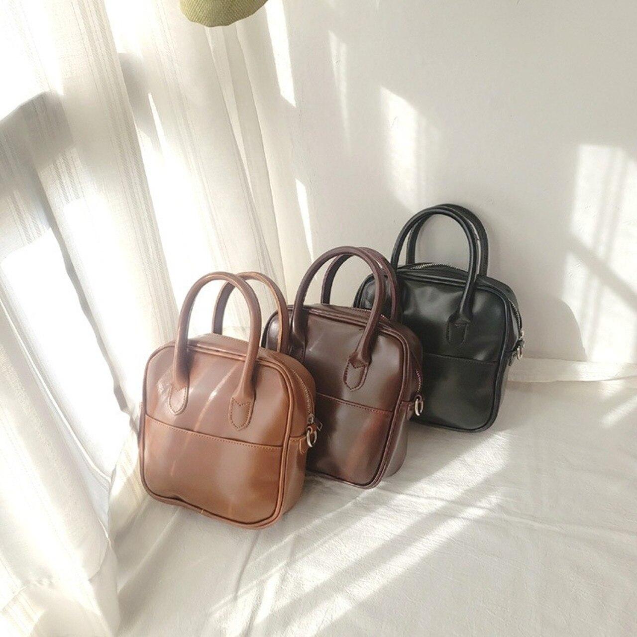 New Style Shoulder Bag South Korea Hand Square Sling Bag Single-shoulder Crossbody Bag Retro WOMEN'S Bag clutch bag