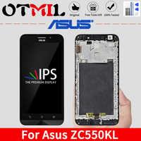 """Originale 5.5 """"LCD Per ASUS Zenfone Max ZC550KL LCD Display Touch Screen Con Cornice Per ASUS Zenfone Max LCD ZC550KL z010DA Display"""