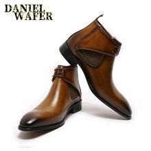 Роскошные ботинки chukka; Повседневная обувь; Цвет черный коричневый;