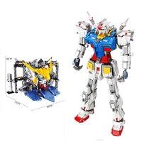 Hot super robot war mecha Classic gundam model 18K RX78 2 K80 K86 661 663 1:60 Fixed bracket building block Christmas toys gifts