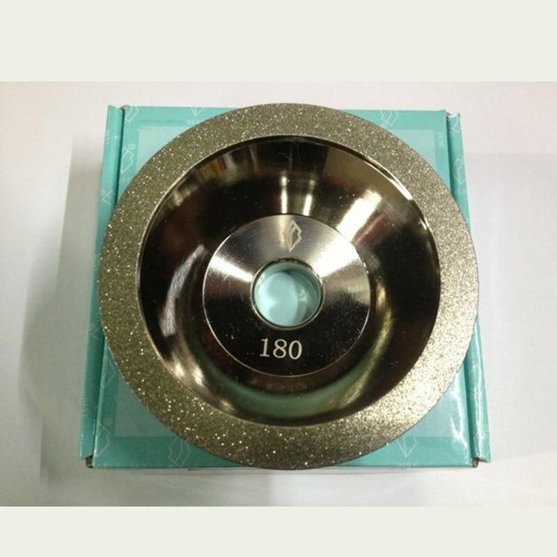 Lama cu unelte de 100mm cu diamant cbn pentru șlefuit la preț bun - Instrumente abrazive - Fotografie 6