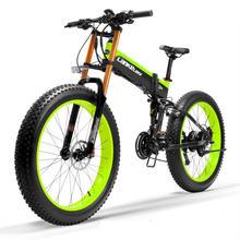 Электрический велосипед 48 в 1000 Вт двухколесный t750 plus