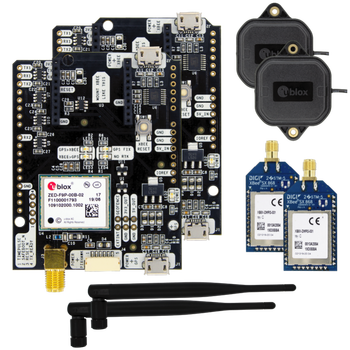 simpleRTK2B boards Radio Modules GNSS, RTK, GPS, ZED-F9P, multiband, BEIDOU, GLONASS, GALILEO