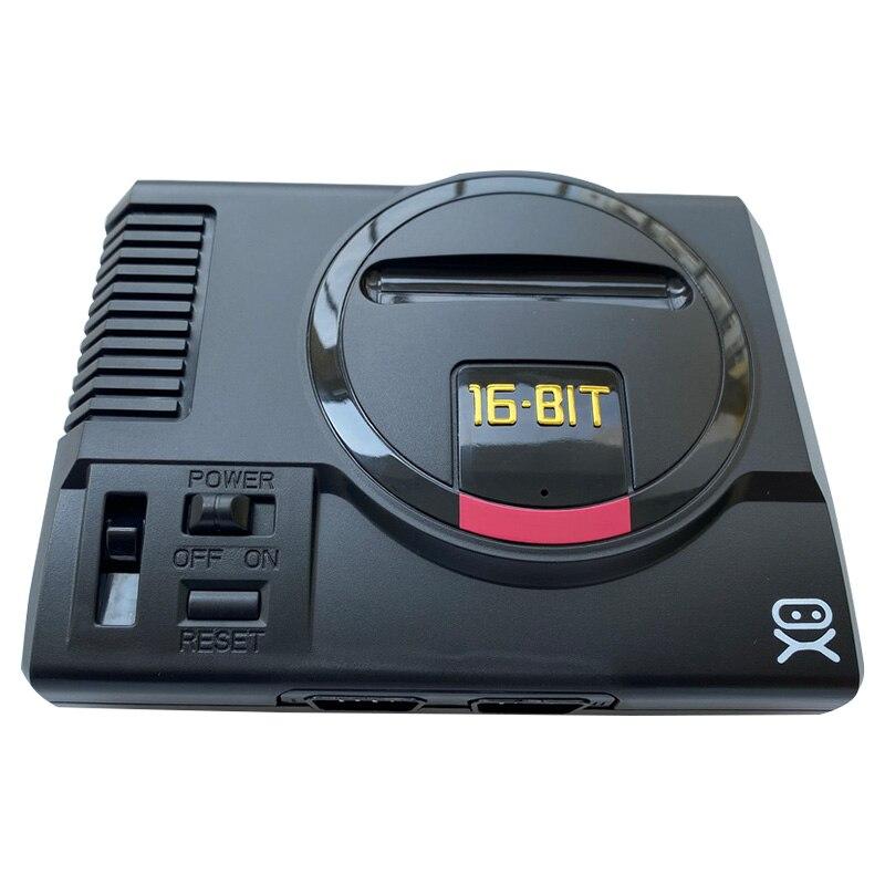 Mini sega genesis Sistema de consola de juegos 168 en 1, consola de juegos en caja con controlador + adaptador de CA genérico|Consolas de videojuegos|   - AliExpress