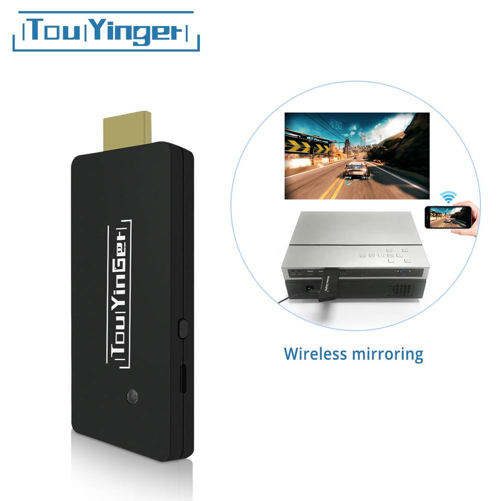 Touyinger Display-Receiver Wireless Mirroring-Screen iPhone Miracast for TY02 Airplay-Dongle