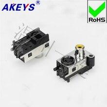 5 PCS RCA Audio Combination S Terminal 4 Core AV Co-Core Socket 7 Footband Fixed Hole 2 Foot AV-mdc-410