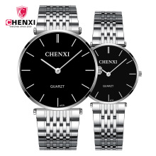 Quartz Men's Women's Brand Paire Noob Silver Watches Couple Luxury Wrist For Gift Female Best Seller Stainless Steel Waterproof