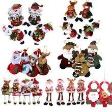 Рождественские украшения для дома Подвески navidad Рождественские елочные украшения Висячие куклы Ремесло Декор Поставщик детский подарок sd206