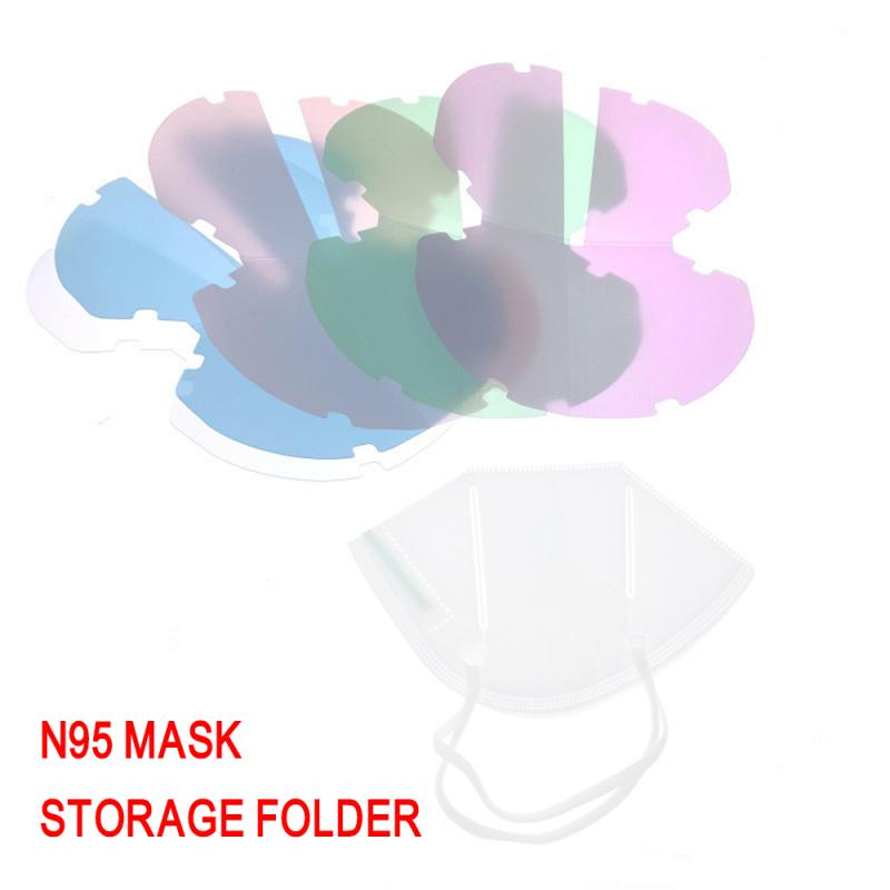 N95 And Face Mask Storage Folder Portable Mouth And Nose Mask Temporary Folder Storage Clip Face Shield Dustproof Case Holder(China)
