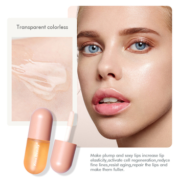 Lip Balm Balsamo Labial Makeup Lip Oil Plump Repair Lasting Moisturizer Care Lip Oil Instant Sexy Plump Serum Make Up TSLM1 image