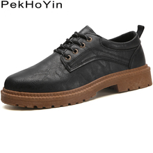 Thick Sole Leather Men Casual Shoes Fashion Sneakers Male Brogue Shoes Footwear Zapatos Hombre Mens Walking Shoes Leather Flats цены онлайн