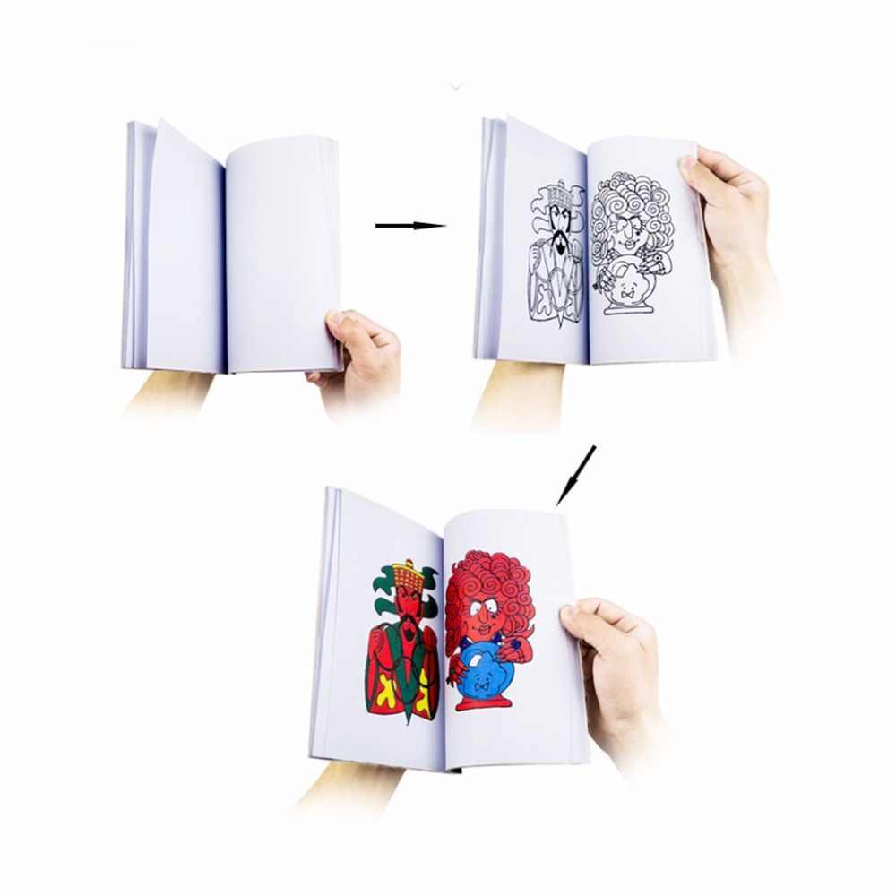 HBB Comedy Magic Coloring Book Trucchi Magici Illusione Giocattolo Per Bambini Regalo Divertente Del Giocattolo Del Bambino