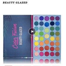Schönheit Glasierte 39 Farbe Perlglanz Matte Lidschatten Leuchtstoff Regenbogen Disk Highlight Lidschatten Platte TSLM1 Mode Schimmer