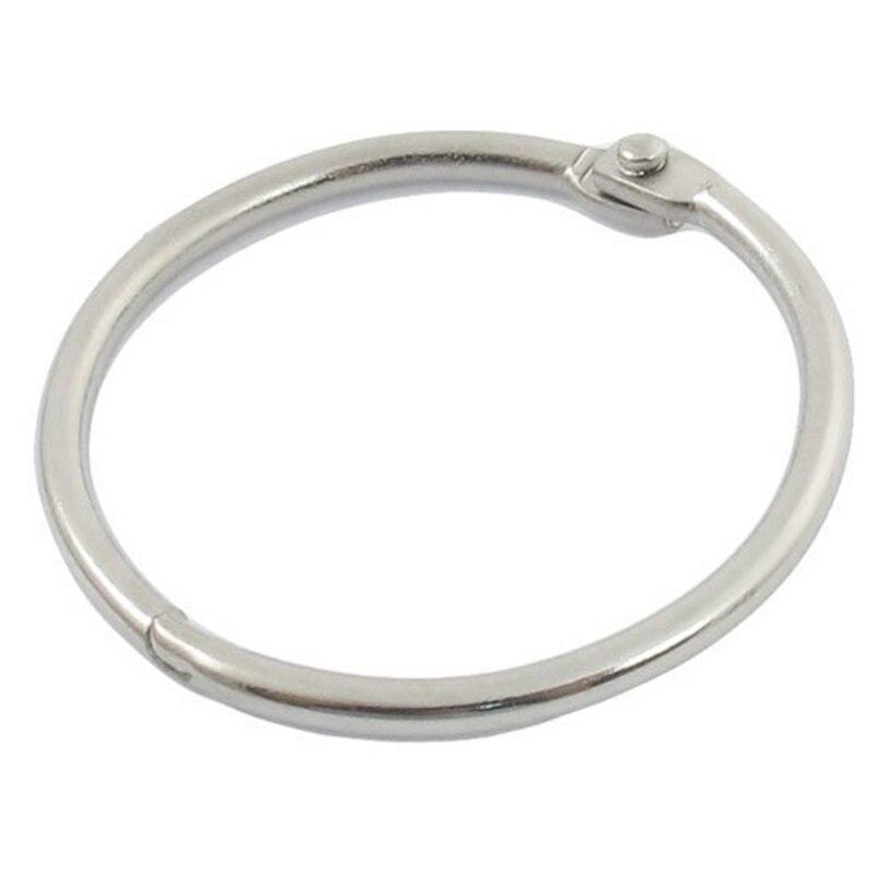 9 X Hinge Leaves Ring Ring Paper Ring Diameter Key Ring