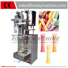 Stick Packaging Filling Sealing Ice Pop Candy 3 Sides Honey Lolly Packing Machine